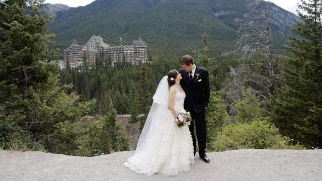 banff springs wedding video