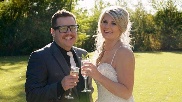 Chase & Lindsay   Beautiful Ranch Wedding near Brooks