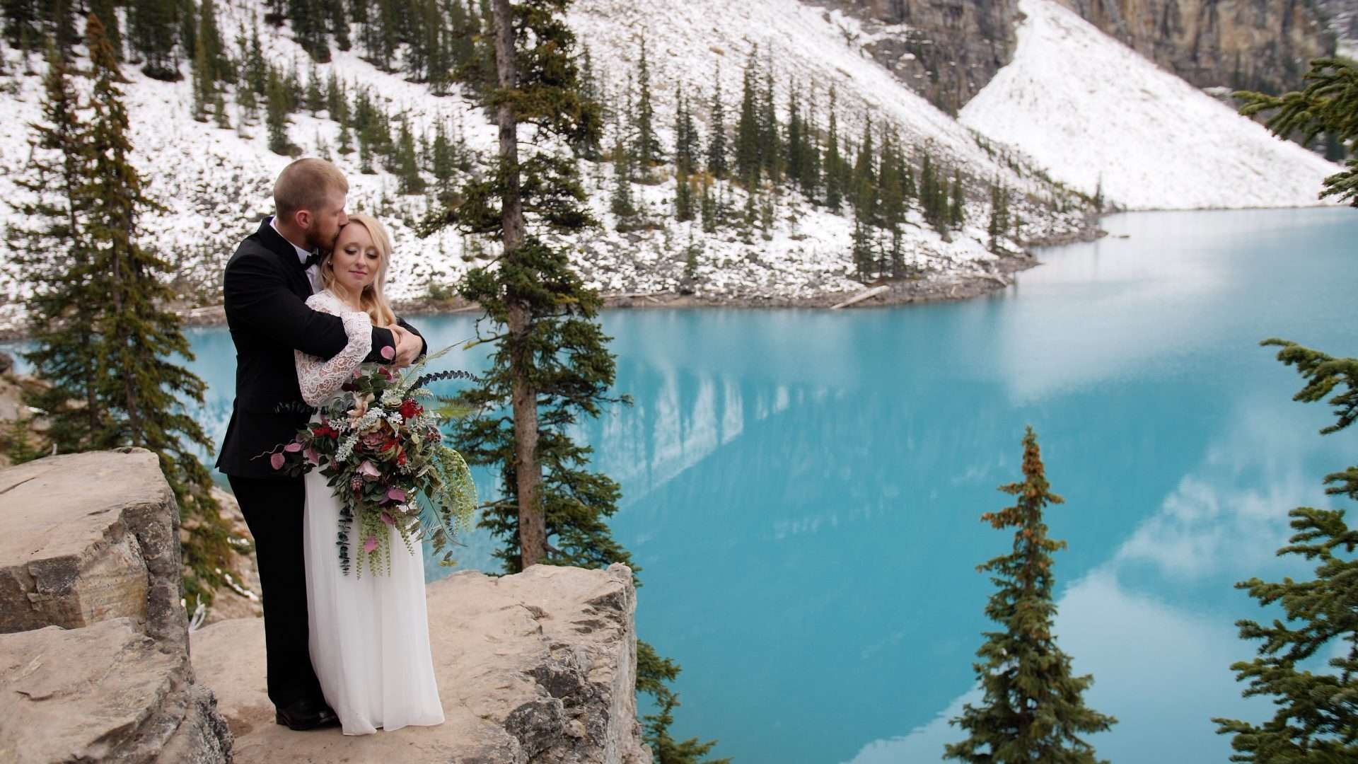 Banff videographer Dream Day Films at Moraine Lake