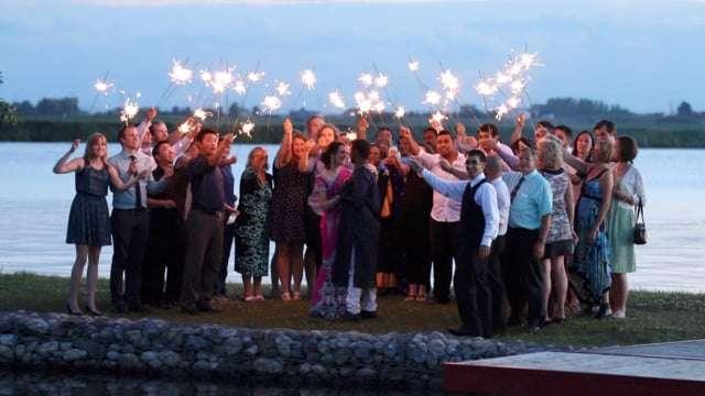 Daneille & Ashwin | Chestermere Lake Wedding