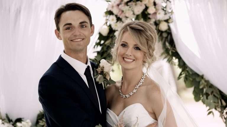 Morgan & Jesse   Summer Wedding in Brooks