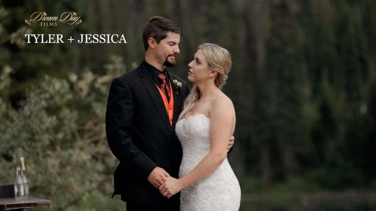 Overlay for Tyler and Jessica's wedding video