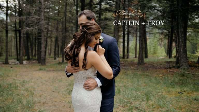 Caitlin & Troy | Tunnel Mountain Elopement in Banff
