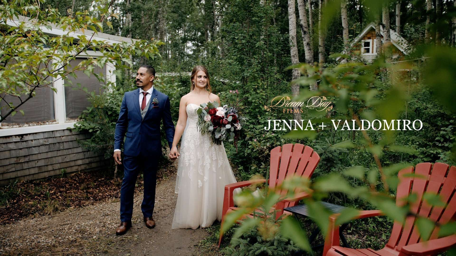 Thumbnail for Jenna and Val wedding video