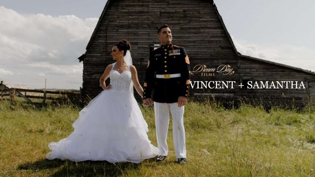 Overlay thumbnail for Sam and Vince's wedding film