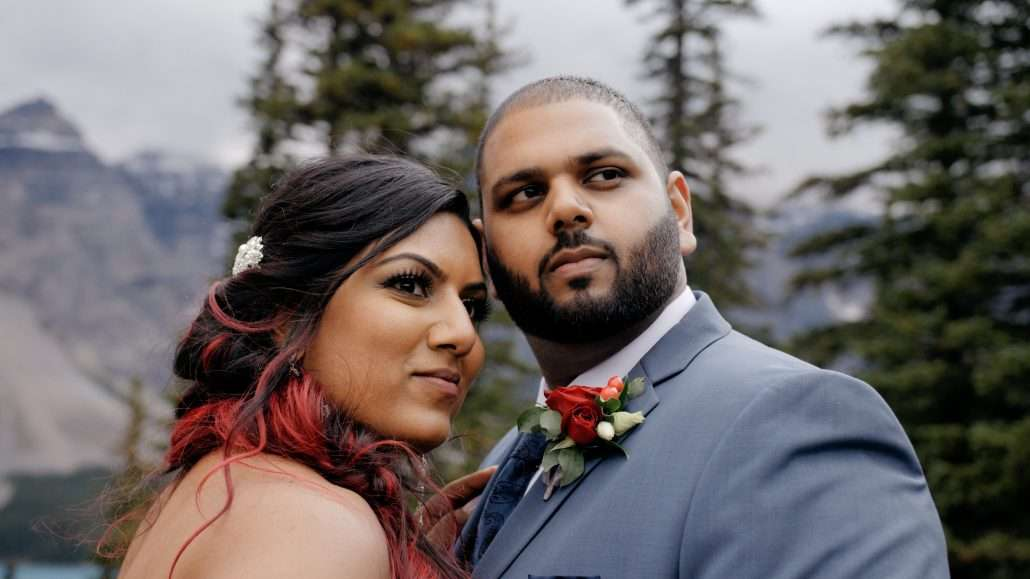 Moraine Lake wedding