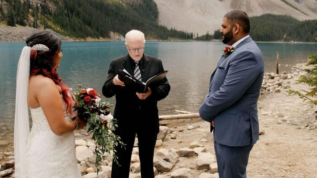 Banff videography wedding ceremony