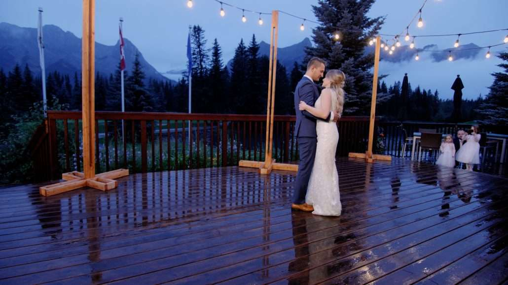 First Dance Canmore videographers