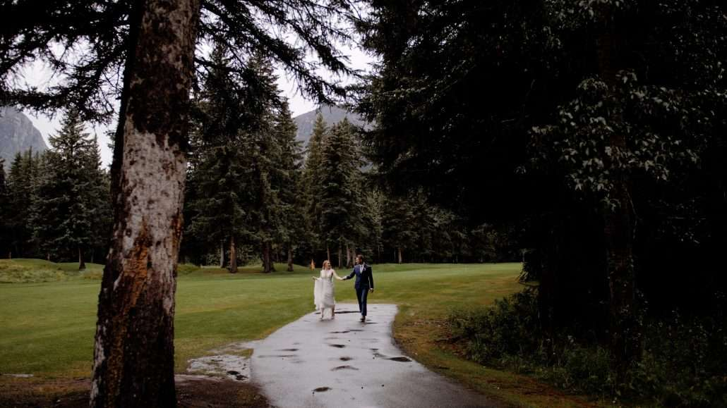 Canmore Golf Club wedding video
