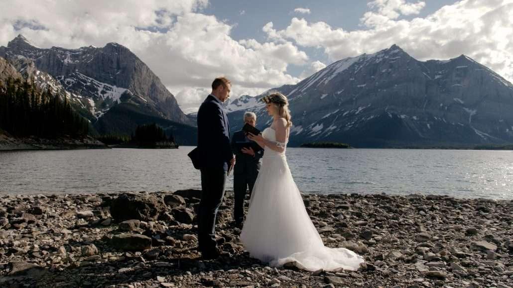 Spray Lakes Wedding Videography