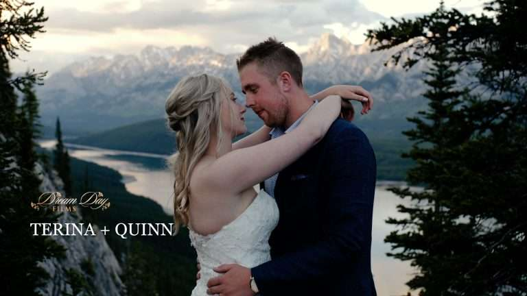 Kananaskis elopement videographer