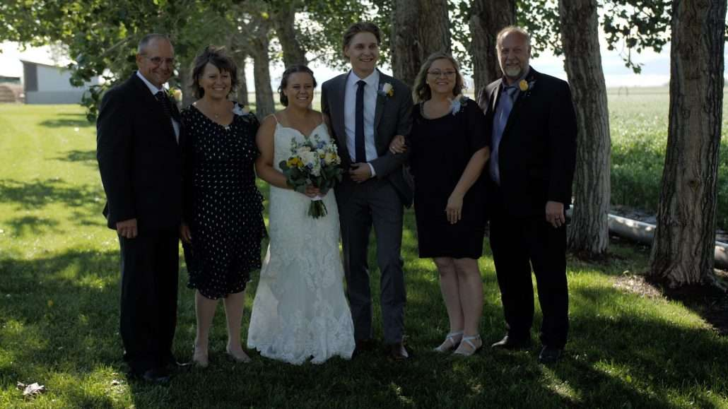 Calgary videographer films family portraits