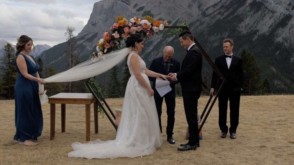 Banff wedding videography