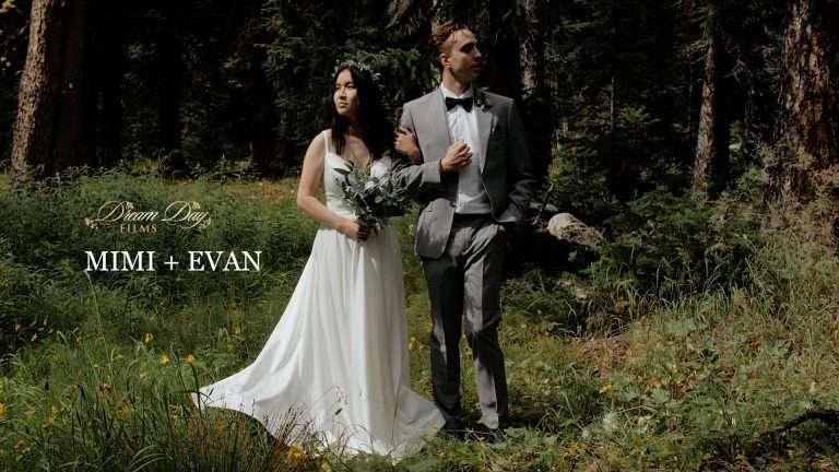 A Bow Lake Micro Wedding